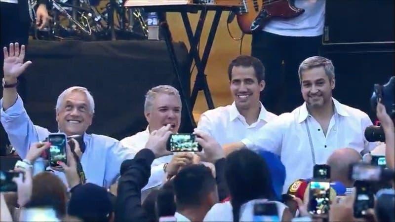 [VIDEO] A dos años del polémico viaje de Piñera a Cúcuta