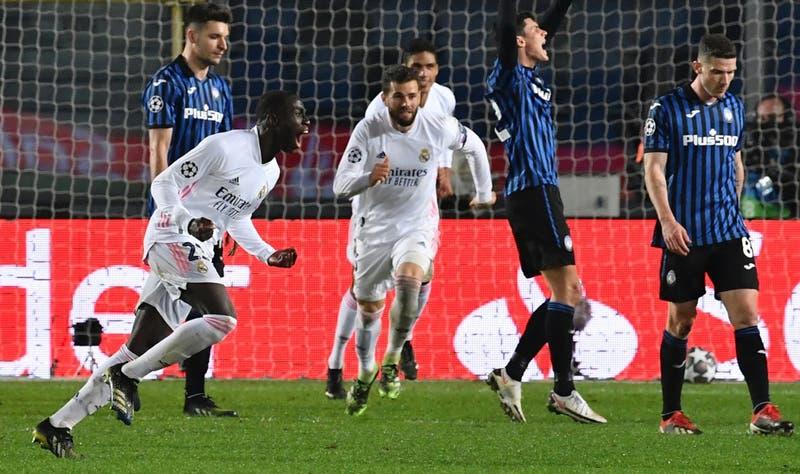 Real Madrid logra agónica victoria en su visita al Atalanta por los octavos de la Champions