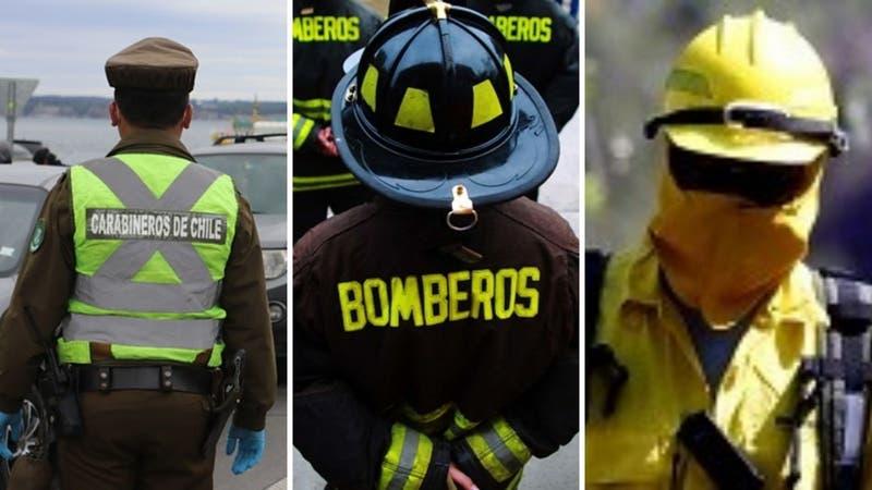 Detienen a joven que se hacía pasar por carabinero, bombero y brigadista de Conaf