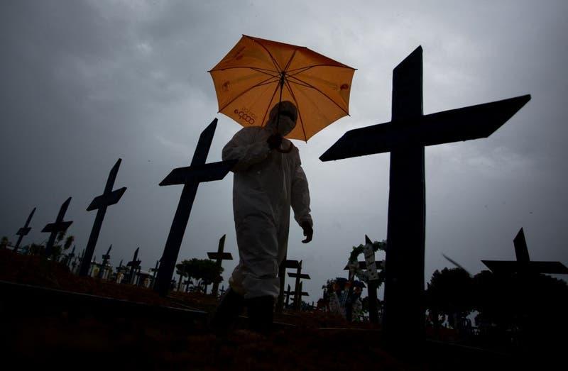 Brasil supera los 250.000 muertos por covid