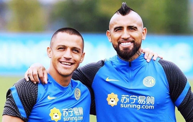 La formación del Inter de Alexis y Vidal para enfrentar al Genoa