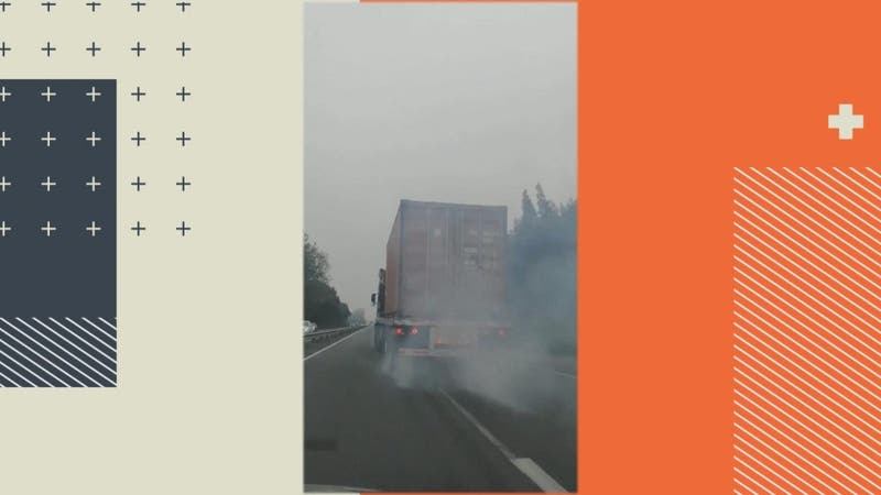 [VIDEO] Denuncian temeraria acción de camionero en plena Ruta 78