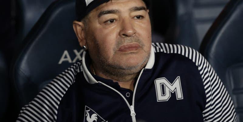 """Se te nota de lejos la mentira"": Filtran audio de Maradona tratando de ladrona a su hija Dalma"
