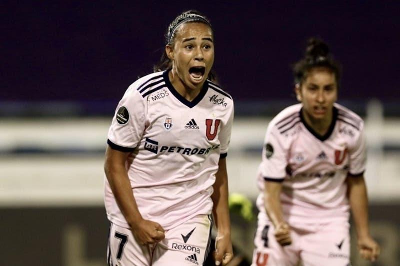 Copa Libertadores Femenina: Universidad de Chile golea a Libertad y clasifica a cuartos de final