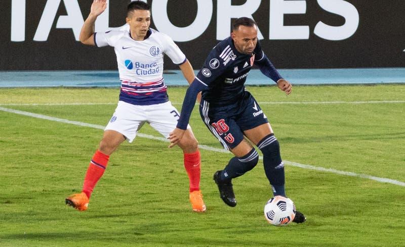 [Minuto a Minuto] La U está igualando sin goles ante San Lorenzo en el Nacional por la Libertadores