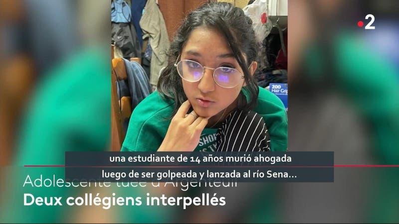 Adolescente fue asesinada por compañeros de curso en Francia
