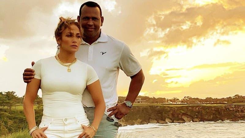 Desmienten quiebre amoroso de Jennifer López y Alex Rodríguez
