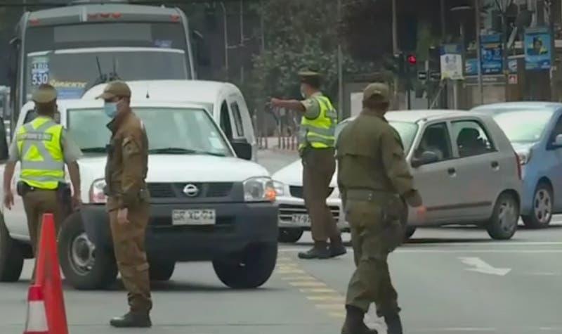 [VIDEO] 1.503 detenidos en primer día de cuarentena en la Región Metropolitana
