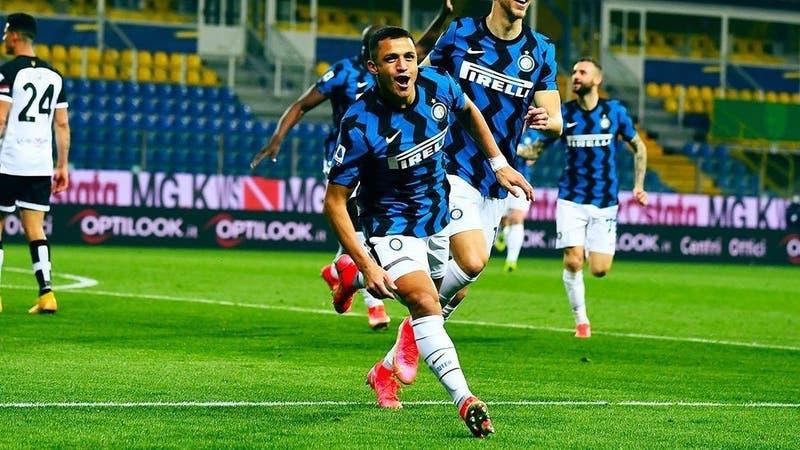 La formación del Inter de Alexis Sánchez para enfrentar al Torino