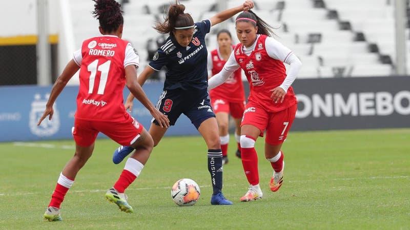 La U vence a Independiente Santa Fe y se instala en las semifinales de la Copa Libertadores Femenina