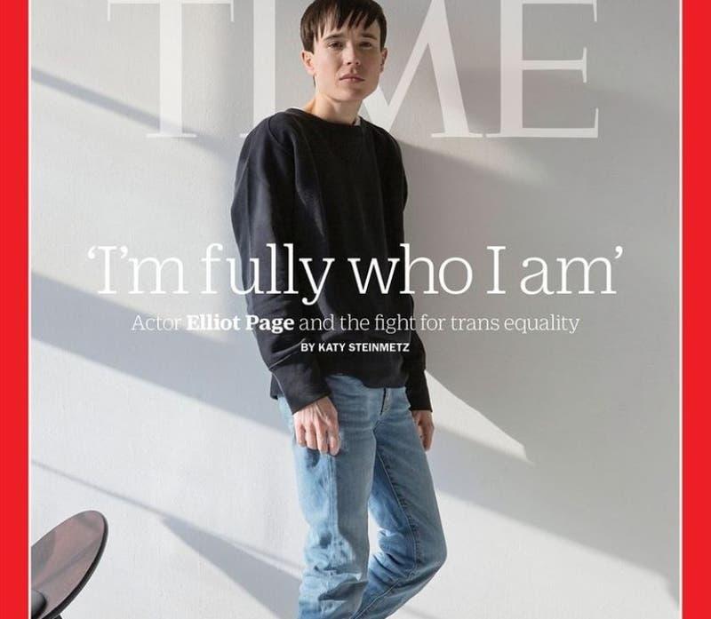 Elliot Page en TIME: Finalmente pude aceptar ser transgénero
