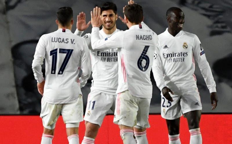 Real Madrid vence al Atalanta y se mete en los cuartos de final de la Champions League