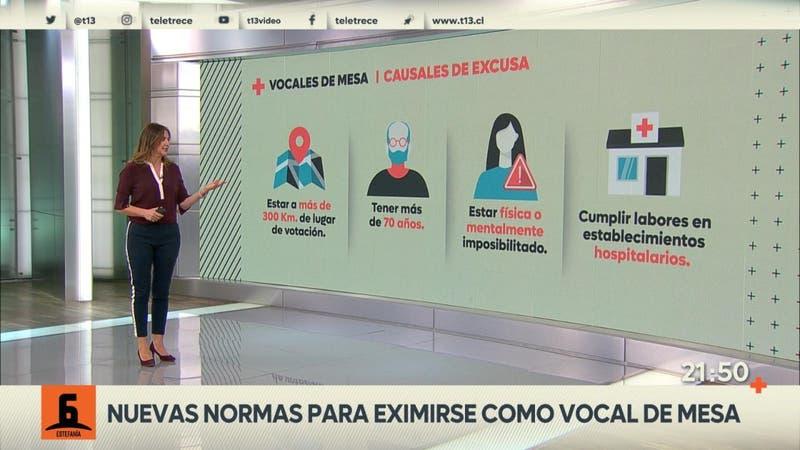 Las nuevas normas para eximirse de ser vocal de mesa en las elecciones de abril