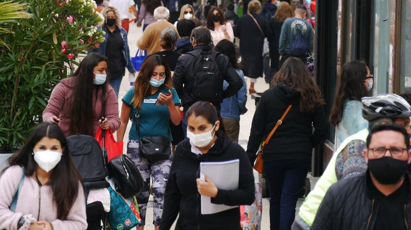 PIB de Chile cae 5,8% en 2020 por el impacto de la pandemia