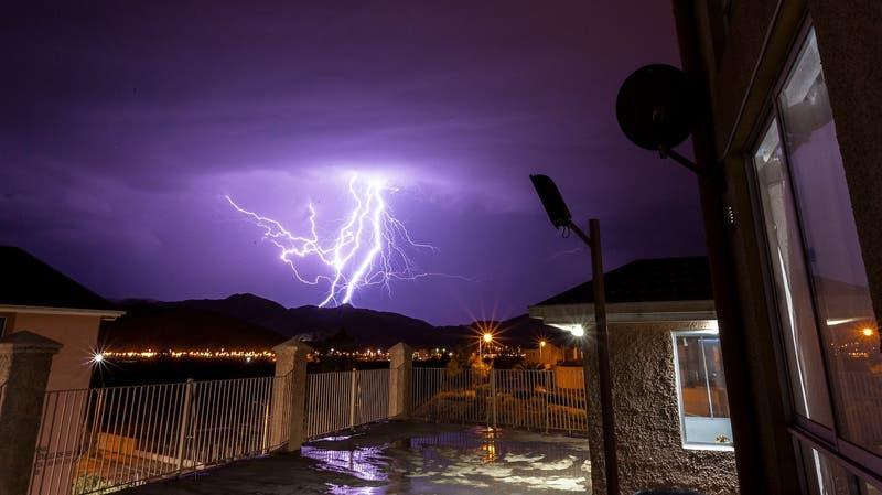 Onemi declara Alerta Temprana Preventiva por tormentas eléctricas en el Norte Grande