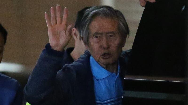 Expresidente peruano Alberto Fujimori retorna a prisión tras superar problemas respiratorios