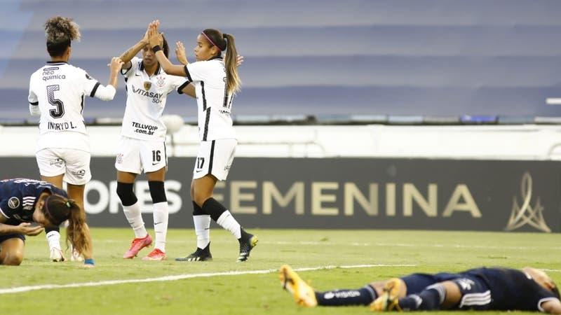 La U cae ante Corinthias y cierra su histórica participación en la Libertadores Femenina