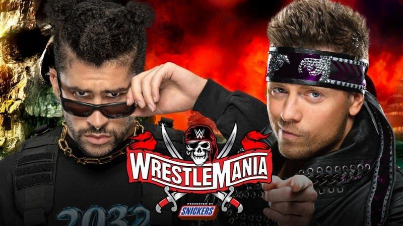 Bad Bunny luchará contra The Miz en Wrestlemania