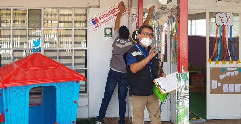 Clausuran jardín infantil de Quilpué por estar funcionando en cuarentena
