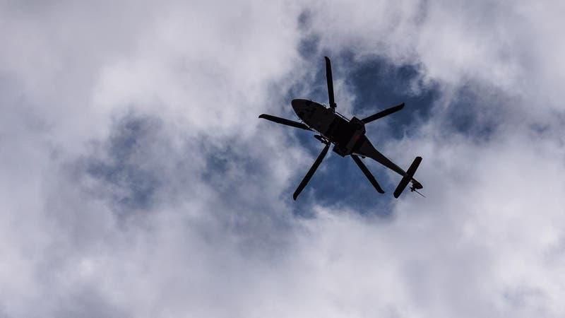 Helicóptero que llevaba vacunas de Pfizer se incendió y sufrió pérdidas totales en Uruguay