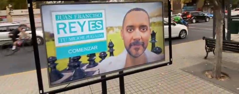 La innovadora campaña de candidato a concejal de Providencia en modo COVID