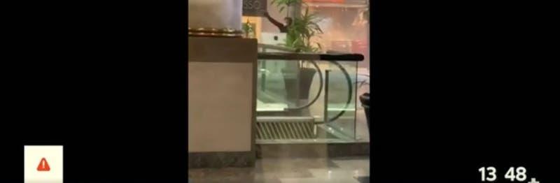 Se registra asalto y balacera a joyería en Mall Alto Las Condes