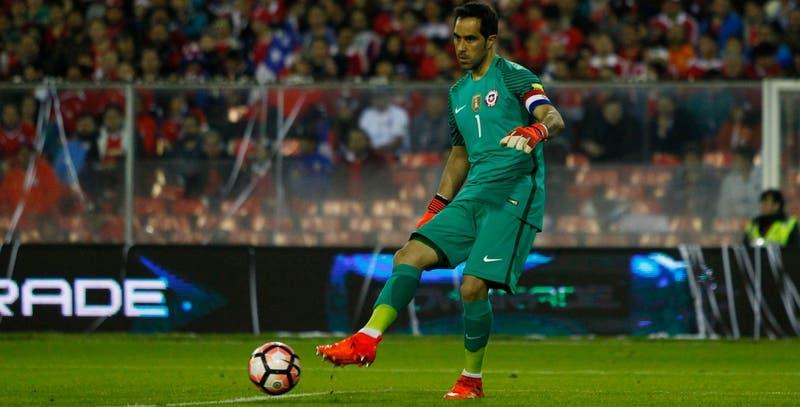 La especial camiseta que utilizará Claudio Bravo en el amistoso de La Roja frente a Bolivia