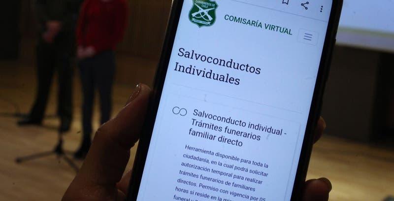 Comisaría virtual: intermitencia por alto número de permisos