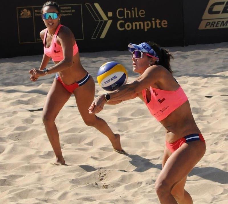 Chile disputa el oro este lunes ante Argentina en el Circuito Sudamericano de Vóleibol Playa 2020