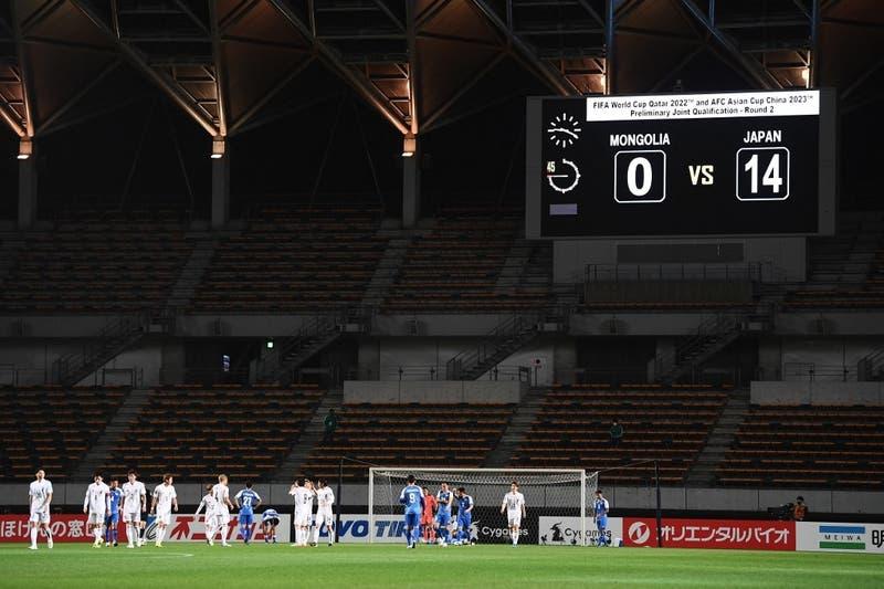 Japón logra histórico resultado y aplasta 14-0 a Mongolia en las Clasificatorias para Qatar 2022
