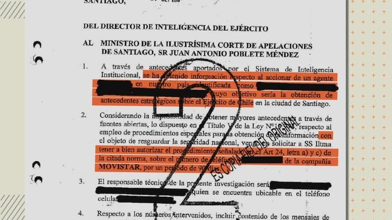 Documento del Ejército reactiva polémica por denuncia de espionaje a un periodista