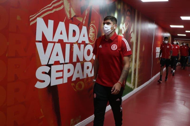 El pase de Carlos Palacios con el que maravilló en su estreno con la camiseta del Inter