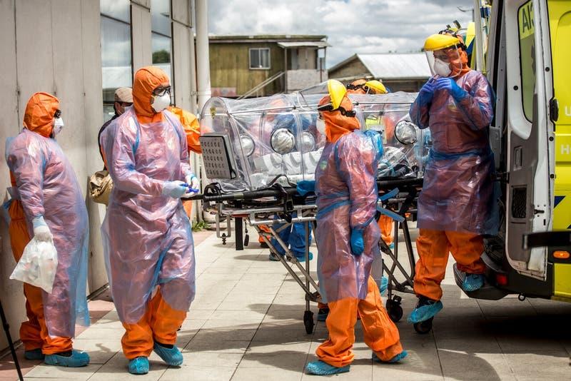 Chile registra más de 8 mil nuevos contagios por COVID-19, la cifra más alta en toda la pandemia