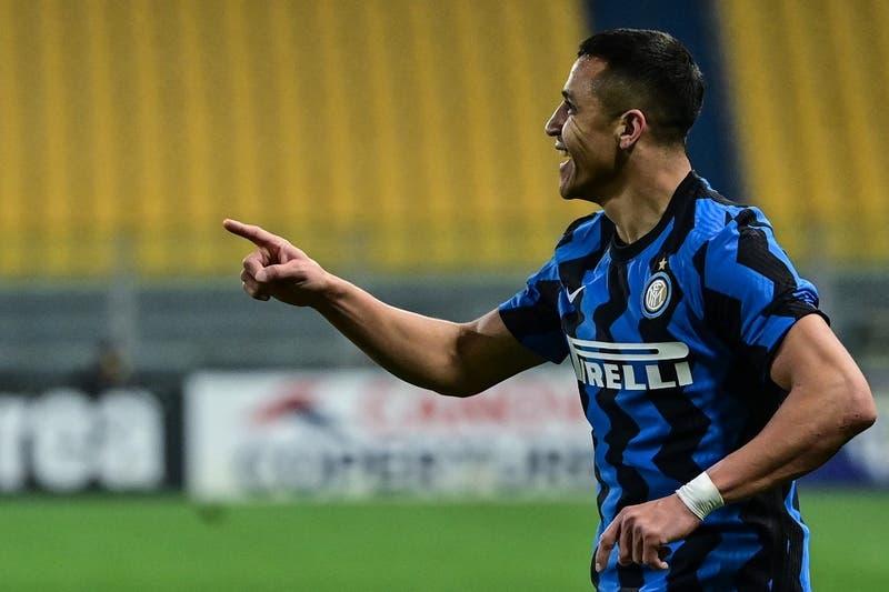 La formación del Inter de Alexis Sánchez y Arturo Vidal para enfrentar al Bologna de Gary Medel