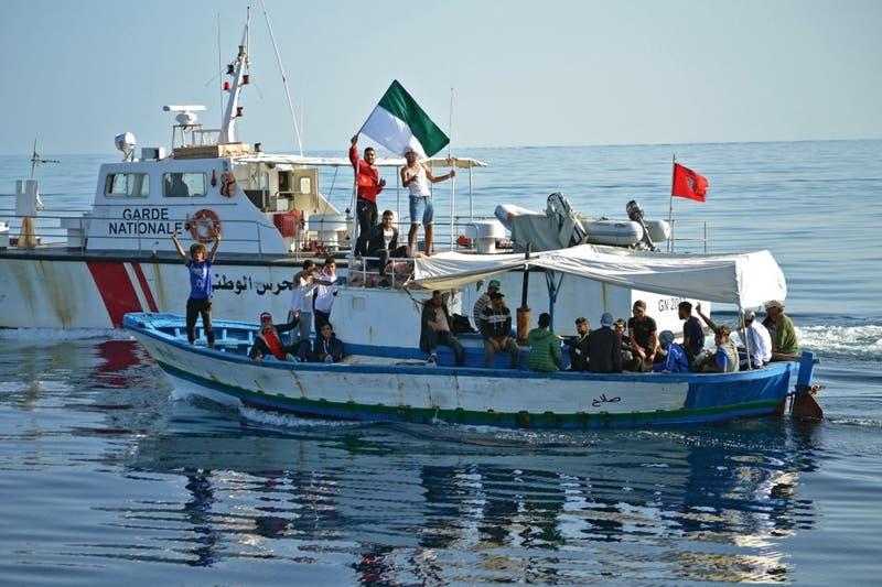 Rescatan dos barcos de migrantes en el Mediterráneo