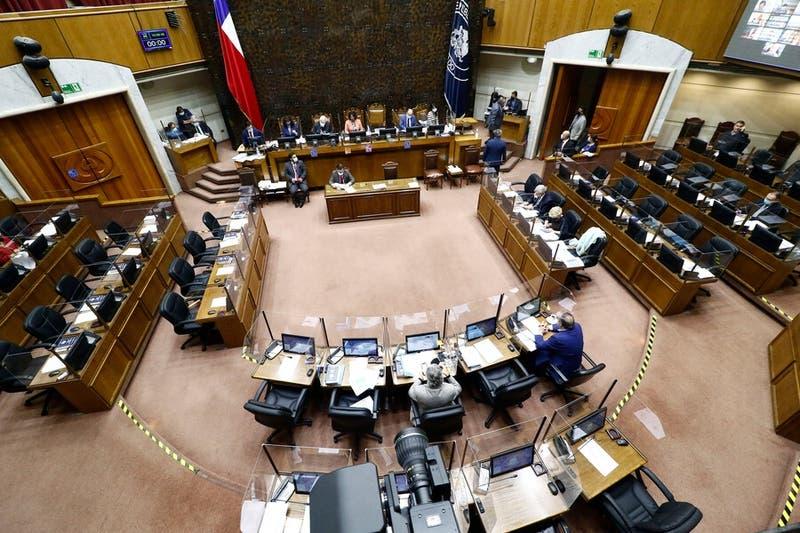 Senado aprueba en particular postergación de elecciones para mayo y proyecto pasa a la cámara