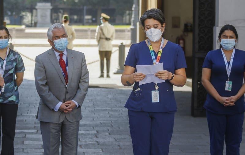 El crudo testimonio de una enfermera que emocionó al ministro Paris