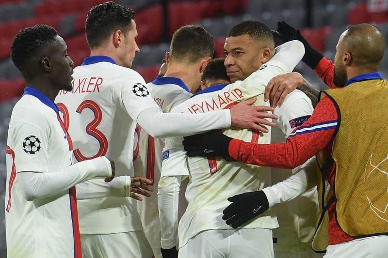 PSG da el golpe y vence al Bayern en Alemania por la ida de los cuartos de final de la Champions