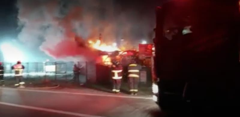Investigan incendio en Centro de Información Turística de Tirúa