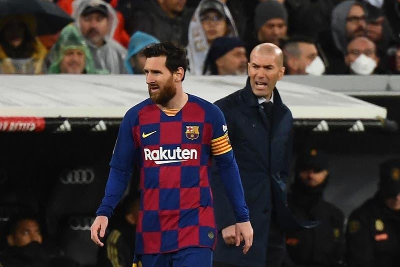"""""""Sabemos el jugador que es"""": El deseo de Zidane que apunta a Messi en la previa del Madrid-Barcelona"""
