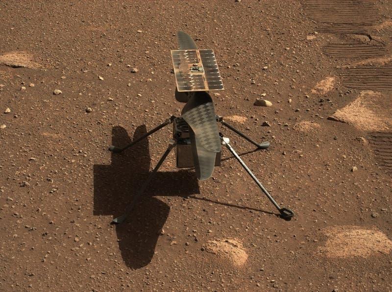 Ingenuity: ¿Qué se espera del primer vuelo del helicóptero de la Nasa en Marte?