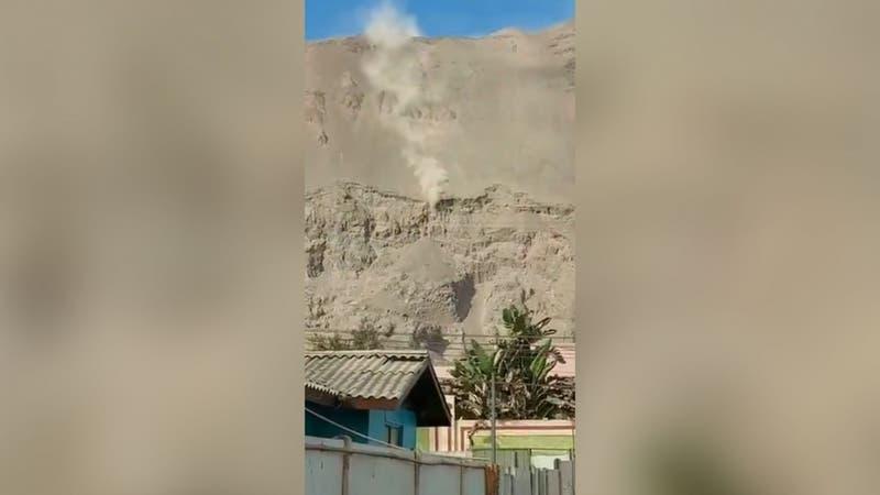 [VIDEO] Vehículo desbarranca en Iquique: Carabineros realiza diligencias