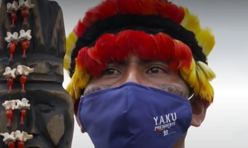 [VIDEO] Segunda vuelta presidencial en Ecuador: Voto indígena es decisivo