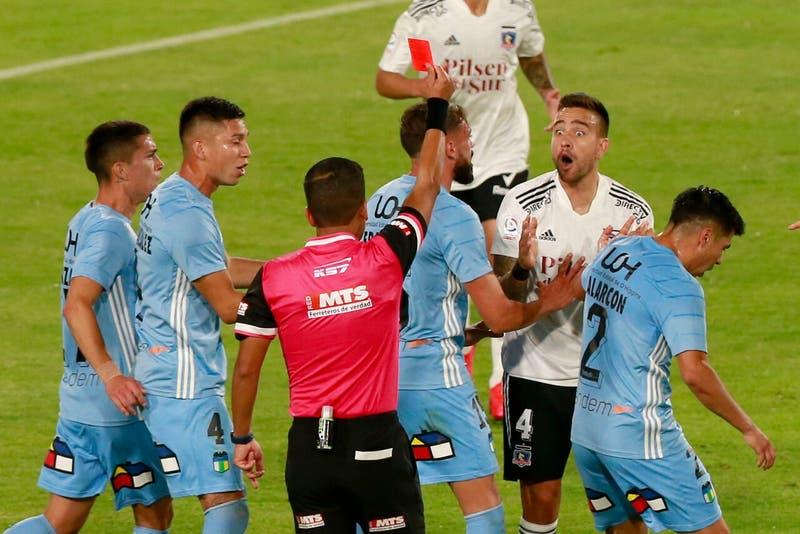 Colo Colo: Zaldivia se disculpa por su expulsión ante O'Higgins