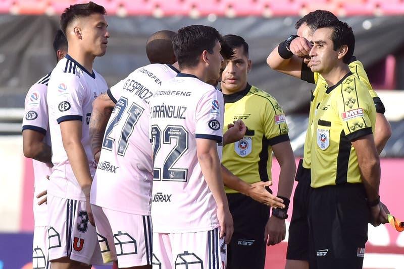 ANFP respalda anulación del gol de la U ante La Serena, pero advierte errores de Hermosilla