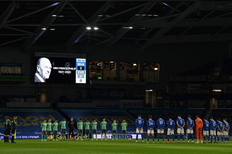 Premier League se modifica por el funeral del Príncipe Felipe