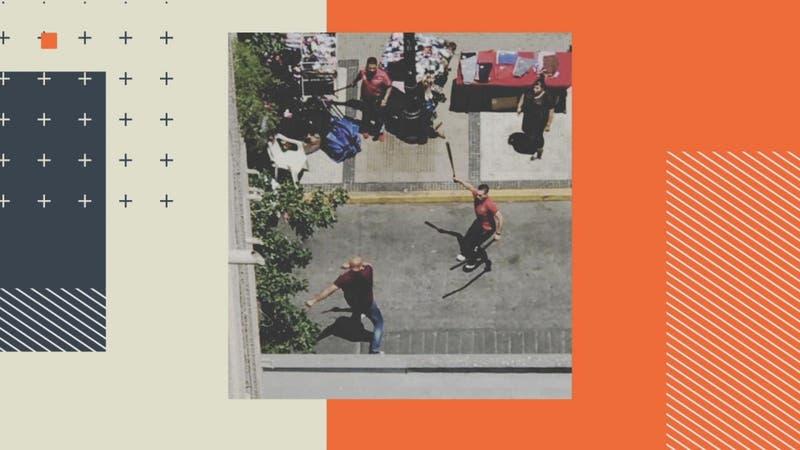Vecinos denuncian violentas peleas de ambulantes en Santiago
