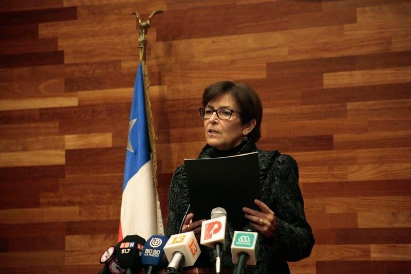 Presidenta del TC María Luisa Brahm pide suspender sumarios en su contra