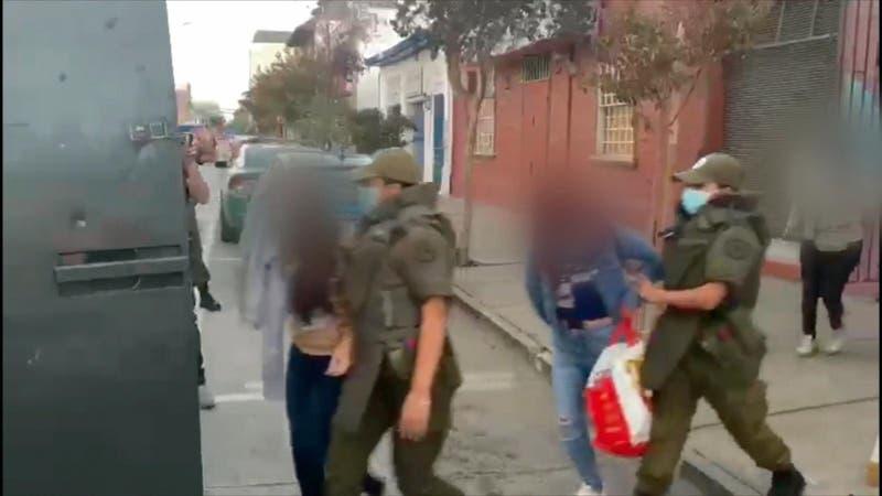 [VIDEO] Detienen a 10 personas al interior de prostíbulo clandestino en Rancagua