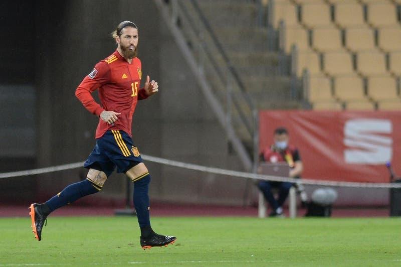 Sergio Ramos arrojó positivo a test de coronavirus